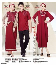 Baju Sarimbit Keluarga Muslim | Cantik Berbaju Muslim