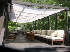 East Hampton house rental - St. Barts inspired wrap around deck