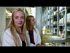 What's it like when Jenna and Virginie Courtin-Clarins visit the Paris laboratory and factory where our products are created? Watch the girls do everything from mix colors to test plant extracts in this behind-the-scenes video.  Plus, they get to wear very chic lab coats. (Margiela can't have all the fun, right?)