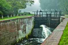 Old Bydgoszcz Canal - The lock on Wroclawska Street Poland, Street, Outdoor Decor, Ignition Coil, Walkway