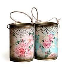 Ideas To Decoupage Tin Can Planters Amazing Ideas To Decoupage Tin Can Planters Tin Can Crafts, Diy And Crafts, Owl Crafts, Decoupage Tins, Napkin Decoupage, Decoupage Ideas, Vintage Upcycling, Tin Can Art, Recycle Cans