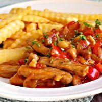 Kung Pao Chicken, Bon Appetit, Chicken Wings, Pork, Ethnic Recipes, Sweet, Halloween, Diet, Bakken