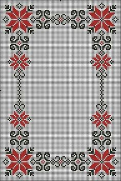 programe de broderie, motive p Cross Stitch Letters, Cross Stitch Borders, Cross Stitch Baby, Cross Stitch Flowers, Cross Stitch Charts, Cross Stitch Designs, Cross Stitching, Hardanger Embroidery, Folk Embroidery