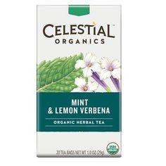 ... Seasonings Organic Herbal Tea Mint & Lemon Verbena (6x20 BAG