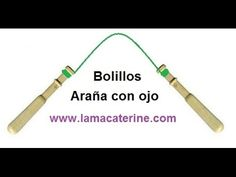 Bolilos: Como hacer araña ovalada, abierta. abierta o pececito - YouTube
