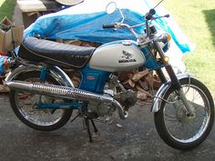 1970 Honda CL70 my very first motorcycle