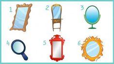 Test di Personalità : Scegli uno Specchio e Scopri l'Immagine Riflessa!