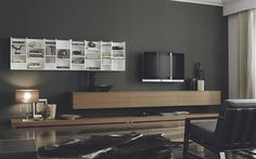 San Giacomo TV Wand - Wohnzimmer TV Schrank