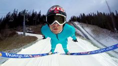 Wow, check out this amazing video of Ski Flying With Anders Jacobsen by #GoPro