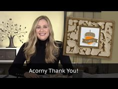 Stampin Up - Acorny Thank You - Video Tutorial - Post By Demonstrator Brandy Cox