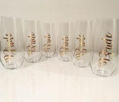 Stemless Champagne Flutes, Bracelets, Gold, Jewelry, Jewlery, Jewerly, Schmuck, Jewels, Jewelery