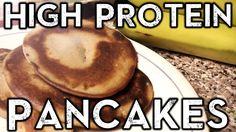 High Protein Pancakes - Milk free Pancakes