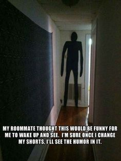 Oh wow! Can you imginue seeing that late at night. What would you do?