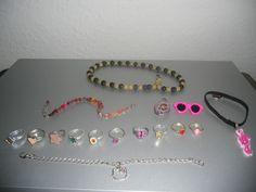 Kinderschmuck Ringe,Ketten,Armbänder u.a Disney,Hello Kitty