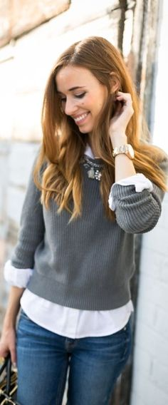 Loving how Mara from M Loves M styles our Rose Gold Perfect Boyfriend Watch for fall.