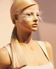 "EUROSHOP, Dusseldorf, Germany, ""Because your eyes said you were feeling it too"", for Genesis Mannequins, photo by Design Retail Mag, pinned by Ton van der Veer"