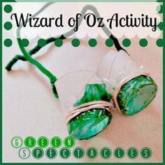 0fb2a73476 Green Spectacles  Wizard of Oz Activity