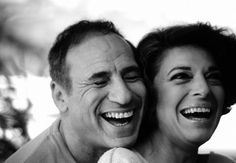 "Example of true love at first...voice. Mel Brooks (Melvin Kaminsky) and wife of 45 years, Anne Bancroft (Maria Louise Italiano-I think that was her real name, anyway). Said the late Anne of Mel, ""I get excited when I hear his key in the door. Its like, Ooh! The party 's going to start."" She passed away at only 73, and he believes she could have had a great many more years."