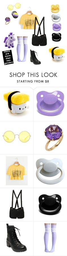 """Nb little"" by little-demi-boy ❤ liked on Polyvore featuring Ray-Ban, Tiffany & Co., Abbey Dawn and Madden Girl"