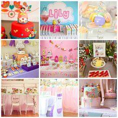 Birthday Party Ideas for Girls via lilblueboo.com