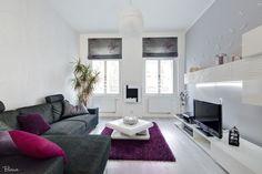 Luxusní obývací pokoj od KP INTERIORS