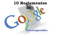 10 reglamentos de Google