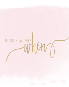 If not now, then when? www.katylanecollection.com