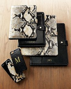 Python-Embossed iPhone 5/5s & iPad Cases by Graphic Image at Neiman Marcus.