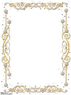 golden frame with gems png by Melissa-tm.deviantart.com on @deviantART