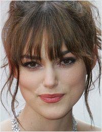 Keira Knightley Messy Fringe | hair | Pinterest