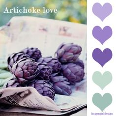 color board -Artichoke Love