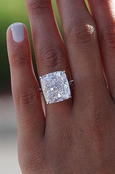 33 Rose Gold Solitaire Ring Ideas For Tender Girls, Rose Gold Solitaire Ring Ideas For Tender Girls ❤️ rose gold best solitaire ring big cushion cut diamond simple band brilliant ❤️ More on t. Stacked Wedding Rings, Beautiful Wedding Rings, Cushion Cut Diamond Ring, Cushion Cut Diamonds, Wedding Finger, Wedding Bride, Dream Wedding, Wedding Dresses, Top Engagement Rings
