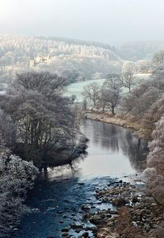 Frosty Morning River View ....