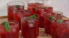 Martha Stewart's Sour Cherry Mojito Recipe Videos | Cherries How to's and ideas | Martha Stewart