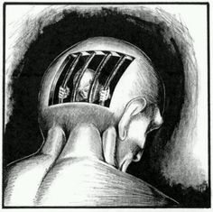 A prisoner in my own mind, I see the outside world differently. Judge me not lest you have seen through the eyes of my insanity!