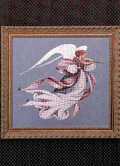 Angel of Spring. I have this pattern but have not got to it as of yet. Someday