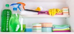 Keep your home and family safe when using cleaning products by paying attention to these smart, practical tips. Cleaning Products, Cleaning Hacks, Cleaning Supplies, Home Automation System, Professional Cleaning, Smart Home, Home And Family, Household, Tips