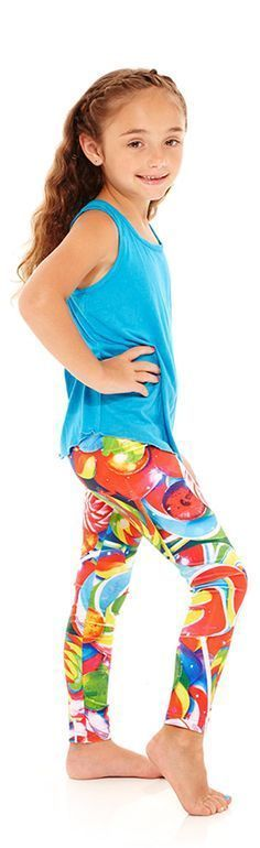 bb5e5b1df80 We'll keep it short and sweet: your little girl needs these Kids Lollipops  Leggings. Terez