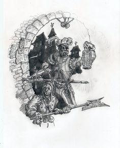 warhammer drawing
