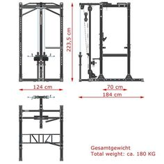 Power Rack Measurements Projection