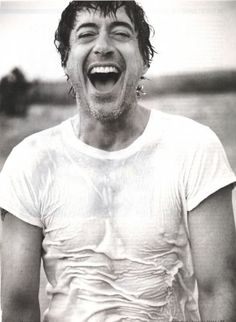 Robert Downey Jr. - He should be required to wear a wet t-shirt all of the time.