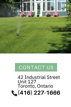 Our sprinkler systems for Mississauga clients are made from durable & lasting materials. We offer a 5-year warranty on all products & a 1-year warranty on workmanship. Thing 1, Sprinkler, 5 Years, Ontario, All Things, Toronto, The Unit, Products, Sprinklers