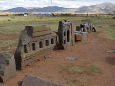 Puma punku is the name of a large temple complex located near Tiwanaku, in Bolivia, and is part of a larger archaeological site known as Tia. Ancient Aliens, Ancient History, Archaeological Discoveries, Archaeological Site, Ancient Mysteries, Ancient Artifacts, Puma Punku, Atlantis, Unusual Buildings