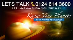 Know Your Planets! teleAstro: Your Private Astrologer