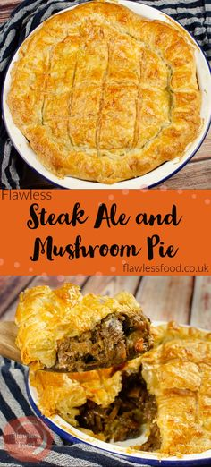 Can't beat a homemade, Steak and Doom Bar Pie. Follow along with our recipe where we show you how to make a proper pie with puff pastry on the top and bottom, otherwise known as a double crust pie. The best British pub-style Steak, mushroom and ale pie you will ever cook, with melt in the mouth beef and vegetables. The perfect dinner to impress, UK and US measurements are given.