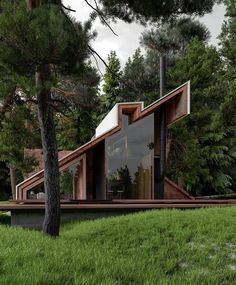 mwordbest - 0 results for architecture Tiny House Cabin, Tiny House Design, Modern House Design, Contemporary Design, Modern Architecture House, Futuristic Architecture, Interior Architecture, Chinese Architecture, Pavilion Architecture
