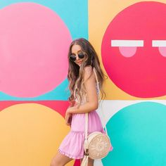 When you form part of the rainbow🌈 Looking cute as ever wears the Mooloola Ruby Skirt and Frankie Sling Bag Sarah Betts, Lauren Riihimaki, Laurdiy, City Beach, Hair Looks, Youtubers, Your Hair, Photo And Video, Long Hair Styles