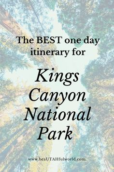 Looking for the Best Things to Do in Kings Canyon National Park? This one day Kings Canyon itinerary will help you plan your Kings Canyon and Sequoia National Park trip. It contains Kings Canyon National Park Hiking, Kings Canyon National Park pictures, Kings Canyon National Park Photography, Kings Canyon Yosemite Sequoia, Kings Canyon Sequoia, Sequoia and Kings Canyon National Park, Kings Canyon National Park things to do, Kings Canyon National Park one day#kingscanyon #kingscanyonnp