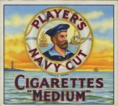 "HMS Hero – the Player's ""Navy Cut"" battleship"