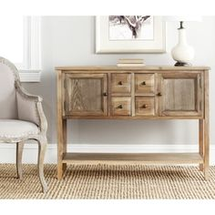 Shop for Safavieh Brighton Oak Finish Storage Sideboard. Get free delivery at Overstock.com - Your Online Furniture Shop! Get 5% in rewards with Club O!
